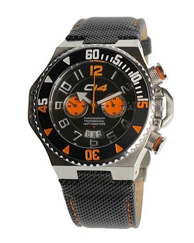 Carbon 14 E12 – Reloj Caballero Movimiento Quarzo Correa Piel Negro