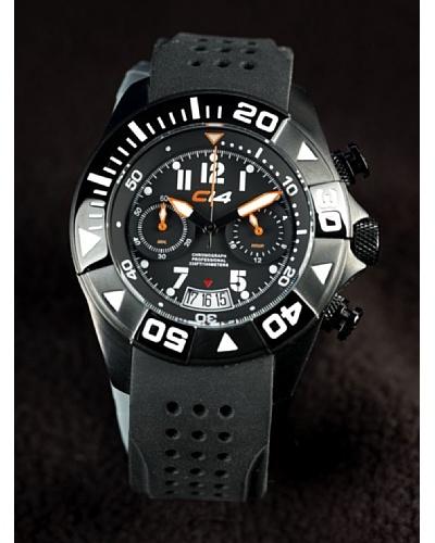 Carbon 14 Wl11 – Reloj Caballero Movimiento Quarzo Correa Caucho Negro
