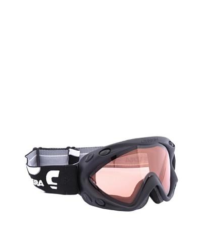Carrera Máscara de Esquí M00124 KIMERIK BLACK MAT LOGO LD