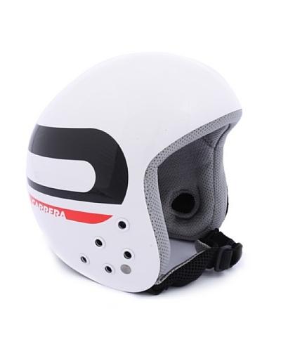 Carrera Casco de Esquí CA E00280 BULLET WHITE SHINY SPEED