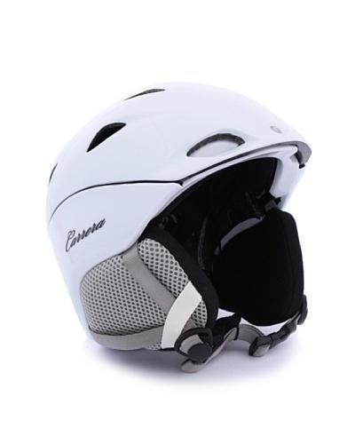 Carrera Casco de esquí CA E00415 SOLACE WHITE SHINY blanco