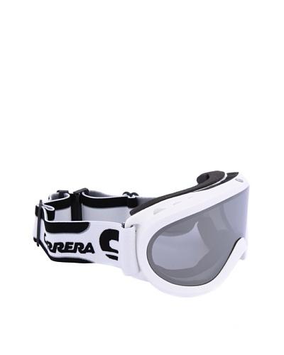 Carrera Máscara de Esquí M00274 SKERMO OTG WHITE SHY LOGO 4O