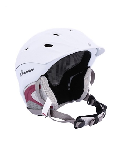 Carrera Casco de esquí CA E00412 MAUNA WHITE MATTE blanco