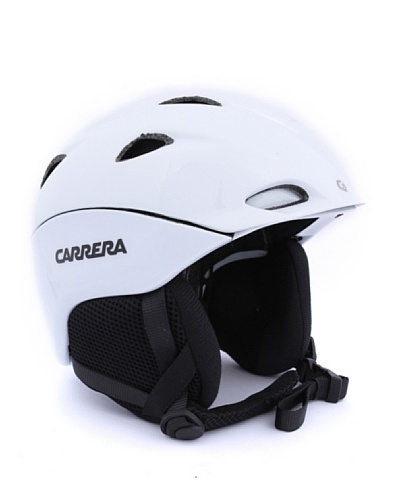 Carrera Casco de Esquí CA E00413 APEX WHITE SHINY Blanco