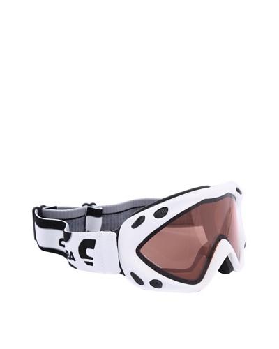 Carrera Máscara de Esquí M00124 KIMERIK WHITE MAT LOGO 4L