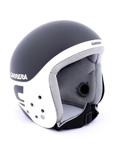 Carrera Casco De Esquí Ca E00280 Bullet Black Matte Wh Sh Logo