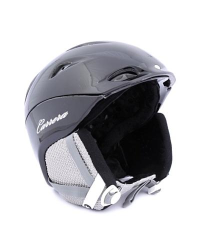 Carrera Casco de esquí CA E00410 MYSTIC BLACK SHINY negro