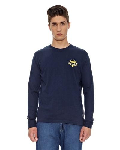 Carrera Jeans Camiseta Básica Azul