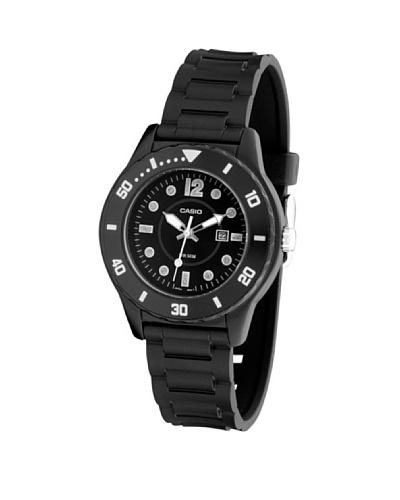 Casio LTP13301A - Reloj de Señora caucho Negro