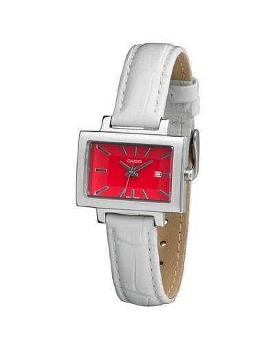 Casio LTP1332L7A - Reloj de Señora piel Rojo
