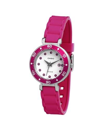 Casio LTP13294EV - Reloj de Señora caucho Rosa