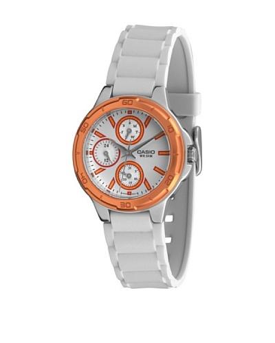 Casio LTP13264A2 - Reloj de Señora caucho Naranja