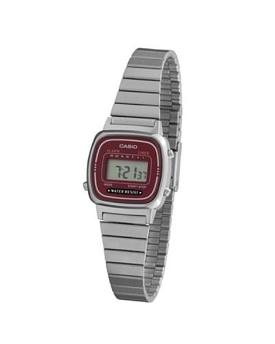 Casio LA670W4D – Reloj de Señora metálico Marrón / Plata