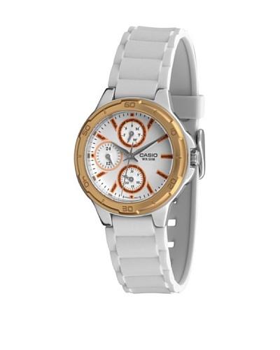 Casio LTP13269A2 - Reloj de Señora caucho Oro
