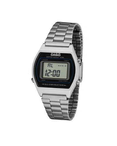 Casio B640WD1A - Reloj Unisex metálico Negro / Plata