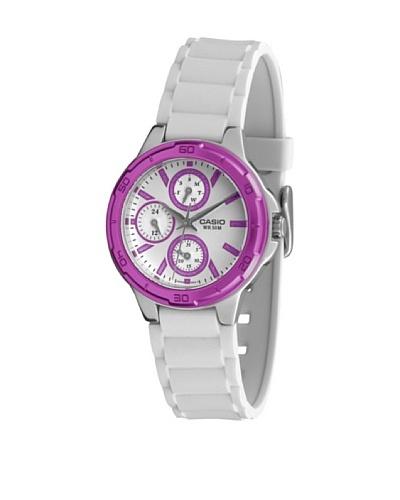Casio LTP13264A1 - Reloj de Señora caucho Fucsia