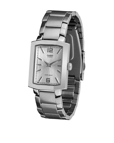 Casio MTP1233D7A - Reloj de Caballero metálico Blanco