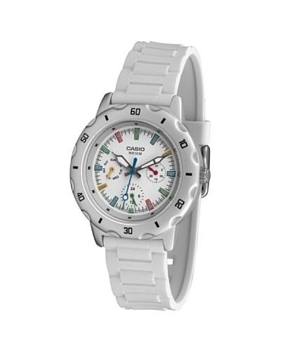 Casio LTP13287EV - Reloj de Señora caucho Blanco