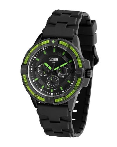 Casio MTD1068B1A1 - Reloj de Caballero caucho Verde