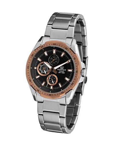 Casio EF336DB1A5 - Reloj de Caballero metálico Negro /Oro / Bronce
