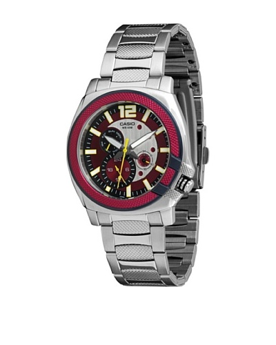Casio MTP1316D4A - Reloj de Caballero metálico Rojo