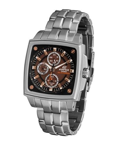 Casio EF331SB5A - Reloj de Caballero metálico Marrón / Plata