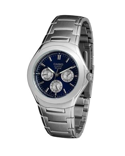 Casio MTP1247D2A – Reloj de Caballero metálico Azul