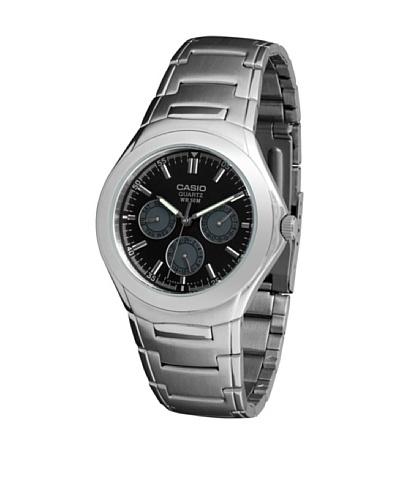Casio MTP1247D1A - Reloj de Caballero metálico Negro