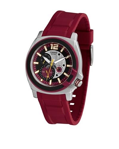 Casio MTP1316B4A2 – Reloj de Caballero caucho Rojo