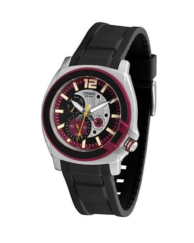Casio MTP13164A - Reloj de Caballero caucho Rojo