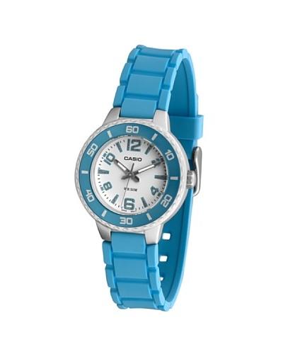 Casio LTP13312A - Reloj de Señora movimiento de cuarzo con correa de caucho Azul