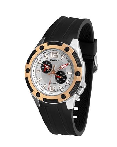 Casio MTP13267A1 - Reloj de Caballero caucho Oro