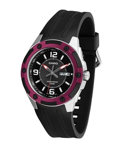 Casio MTP13271A - Reloj de Caballero caucho Rojo