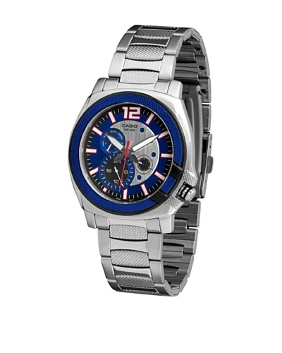 Casio MTP1316D2A - Reloj de Caballero metálico Azul