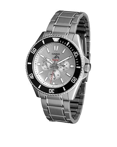Casio MDV303D7A - Reloj de Caballero metálico Blanco