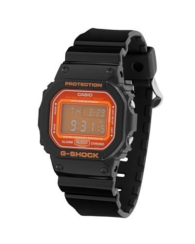 Casio DW5600CS1 - Reloj Unisex caucho Naranja / Negro