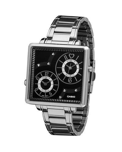 Casio LTP1321D1A - Reloj de Señora metálico Negro