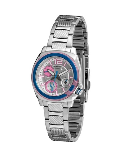 Casio LTP1320D2A - Reloj de Señora metálico Azul / Rosa