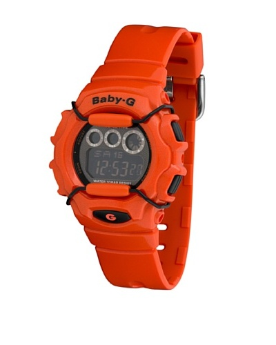 Casio BG1006SA4B - Reloj de Señora caucho Naranja