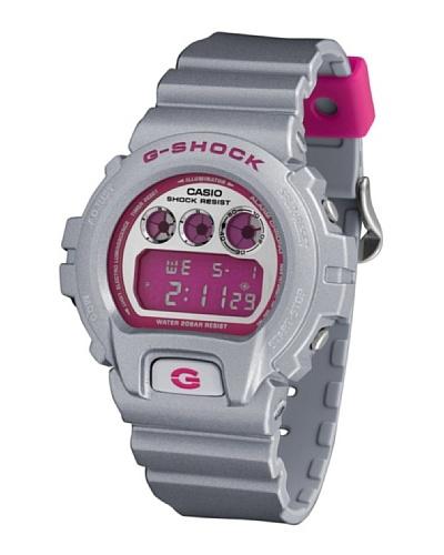 Casio DW6900CB8 - Reloj Unisex caucho Plata / Rosa