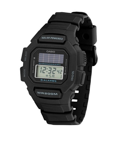 Casio HDDS1001A - Reloj Unisex caucho Negro