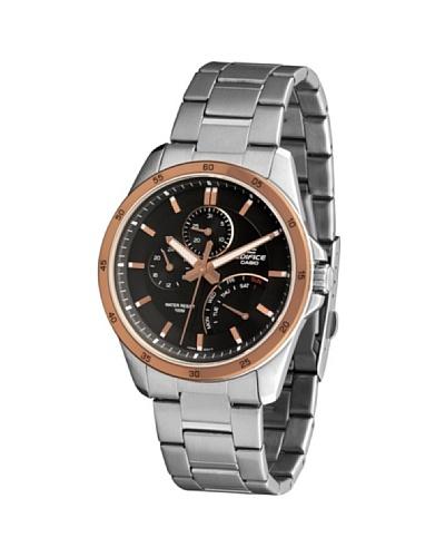 Casio EF341D5A - Reloj de Caballero metálico Negro /Oro / Bronce