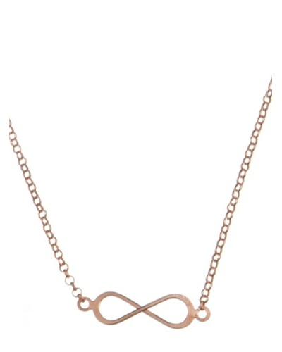 Córdoba Joyeros Collar Infinity Rosado