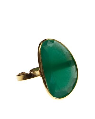 Córdoba Joyeros Anillo Luxury Thais Piedra Verde