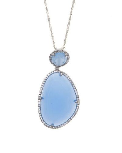 Córdoba Joyeros Gargantilla Spirit Diamantado & Piedra Azul
