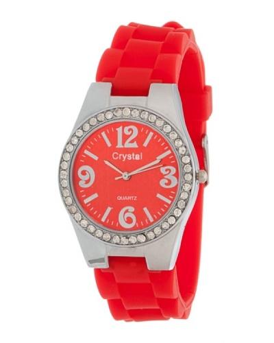 Córdoba Joyeros Reloj  Plata Rojo Strass