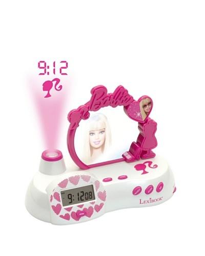 Cefatronic Radio Despertador proyección hora Barbie