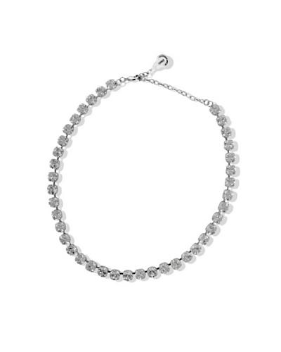 Celebrity Collar Cristallo plata