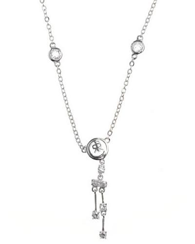 Cerruti Collar R42155Z Circonita Acero y Plata