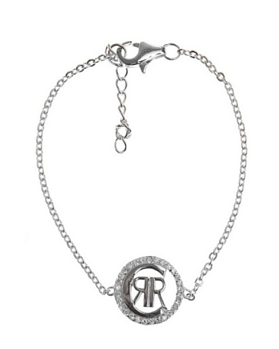 Cerruti 81 - R52060Z - Pulsera de mujer de plata de ley con circonitas, 16 cm